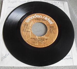 Promo Record 45 RPM Siegel Schwall Band Sleepy Hollow Wooden Nickel