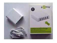 GOOBAY 44155 CARICATORE USB MULTIPORT CHARGER 8000 mAh