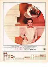 PUBLICITE ADVERTISING  1965   PRISUNIC  cosmétiques  ANN MICHAEL
