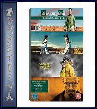 BREAKING BAD - COMPLETE SERIES SEASONS 1 2 3 & 4 **BRAND NEW DVD BOXSET  **