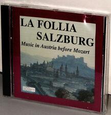 VTL Audiophile CD VTLCLASS001: La Follia Salzburg - Pre Mozart - 1992 OOP USA SS