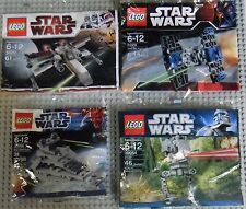 Lego Star Wars Mini Sets Star Destroyer, X-Wing, Tie Fighter AT-ST Walker RARE