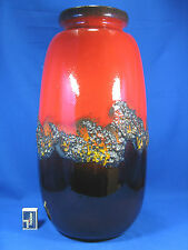 "Stunning 70´s design Scheurich "" Fat Lava "" pottery vase Keramik Vase 284-53"