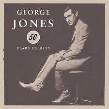 50 Years  Hits George Jones CD  Melba Montgomery Tammy Wynette, Waylon Jennings