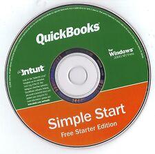 2 - 2006 Quickbooks Simple Start Free Starter Ed NEW Sealed in pkg  FREE SHIP !!