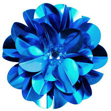 SEQUIN LAYERED FLOWER APPLIQUE  2434-R