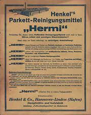 HANNOVER, Werbung / Anzeige um 1950, Henkel&Co. Dampfseifen-Soda-Fabrik