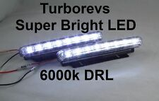 WHITE XENON AUDI A3 TT A4 A6 LED DRL FOG BUMPER LIGHTS