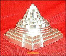 Shri Yantra / Shree Yantra - Made in Pure Parad - 3 inches - 1 Kg