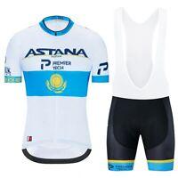 Maillot / Cuissard Astana Pro Team 2020 Ensemble équipe cyclisme Pro été vélo H