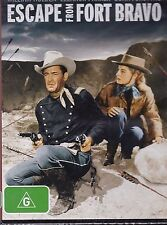 ESCAPE FROM FORT BRAVO -  William Holden, Eleanor Parker, John Forsythe - DVD
