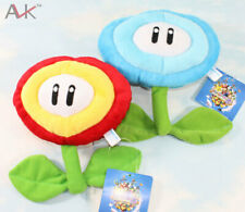 Super Mario Brothers Ice Flower & Fire Flower Stuffed Plush Toys