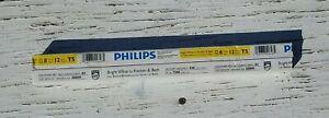 Philips F8T5/CW Linear Fluorescent 8 Watt 12 Inch T5 Bright White Light