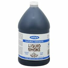 """COLGIN LIQUID SMOKE"" - Natural MESQUITE- LARGE 1 US Gallon - VEGAN APPROVED"