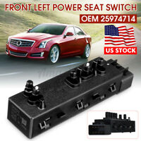 USA Driver Side Power Seat Switch For Cadillac SRX Buick Chevy Equinox Cruze GMC