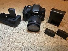 Canon EOS Rebel T6i 24.2MP DSLR Camera - Black Bundle