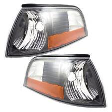 Pair Set Park Signal Side Marker Lights Lamps DOT for 2003-2004 Mercury Marauder