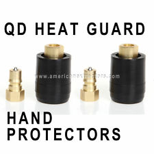 2 Sets Quick Disconnect QD w Heat / Burn Guard Protection for Carpet Cleaning