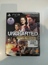 uncharted édition trilogie trilogy edition  ps3 ps 3 playstation 3 neuf