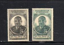 MALAGASY #259-260  1945  EBOVE ISSUE      MINT VF LH  O.G