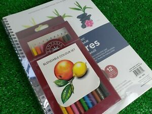 """Strathmore Learn To Draw Textures In Colored Pencil Set - 9""""x 12""""  257520"""