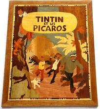 """Marqueterie """"Tintin et les Picaros"""""""