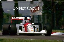 Gerhard Berger McLaren MP4/7A F1 Stagione 1992 foto 2