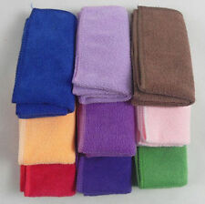 10pcs Car or home Microfiber Cleaning Towel Wahsing Hand Towels Wash