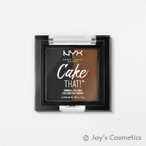 """1 NYX Cake That! Powder Eyeliner Matte """"CTL01 - Black & Brown """"*Joy's cosmetics*"""