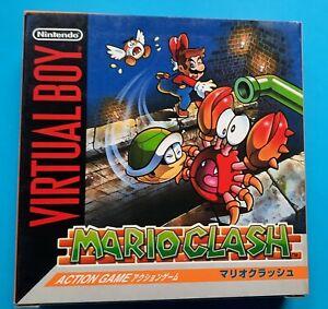 Mario Clash Virtual Boy JAP !! BRAND NEW !!
