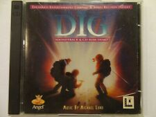 DIG - RARE -PC Game Soundtrack (1996) - (with game demo) (Music by Michael Land)