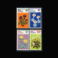 New Zealand, Sc #500-03, MNH, 1972, Flowers, Flora, AR5RHI-9