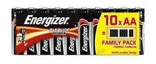 10 Piles AA (lr6) alcalines 1 5v Energizer Classic