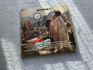WOODSTOCK ORIGINAL 1970 TRIPLE VINYL LP ~ COTILLION SD 3-500