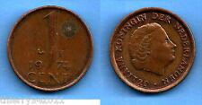 Netherlands 1 Cent 1974 Gulden Cents Free Shipping World Ppal Skrill