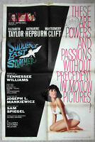 Original Filmplakat Suddenly Last Summer - Elizabeth Taylor -  USA 1960