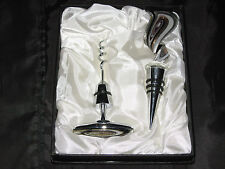 Artisan Cork & Cork Screw for Wine Champagne Bottle Party Entertain NEW!
