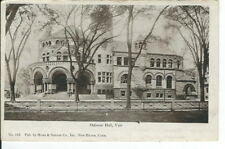CC-292 CT, New Haven, Osborne Hall, Yale University Undivided Back Postcard
