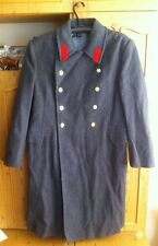 Russian Soviet coat army officer Military Uniform Winter Overcoat Wool USSR xxl