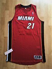 New listing HASSAN WHITESIDE Miami Heat Adidas rev30 authentic jersey g 2XL lebron butler