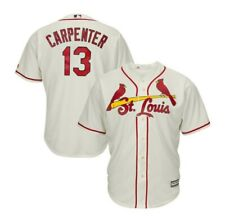 Majestic Men's Matt Carpenter St. Louis Cardinals Replica Cool Base Jersey -Sz M