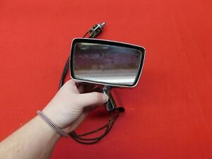 USED 65 66 Ford Galaxie 500 XL LTD LH Remote Side View Mirror Assy #C5AZ-17682-C