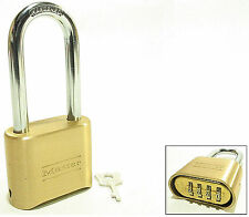 Lock From Master 175LH Brass Combination Resettable $25 OR MORE FREE SHIPPING!!