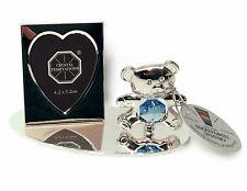 Blue Teddy Bear con mini cornice foto a forma di cuore foto Arredamento Nuovo Nato