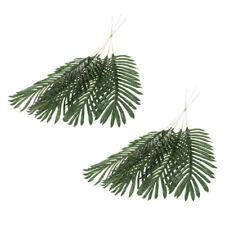 10pcs foglie di palma artificiali per Hawaiian Jungle Beach Party Garden
