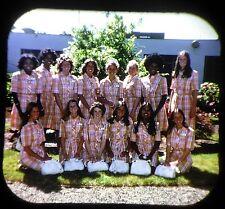 View-Master Reel 1975-2 ROSE COURT Festival - PORTLAND Oregon Custom unique rare