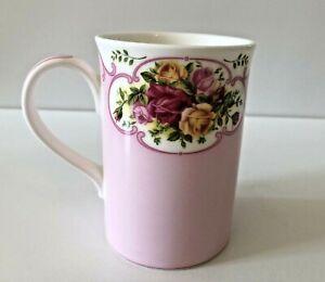 Royal Albert Old Country Roses Cameo Pink Mug Bone China