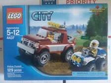Lego City Retired 2012 Police Pursuit 4437 Bricks * Factory Sealed Box *