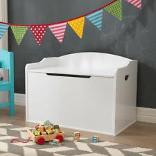 NEW KidKraft Toy Box Austin White Kids Bedroom Decor Toy Storage Playroom 14951