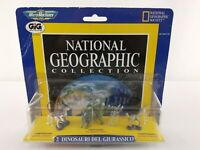 BRAND NEW Micro Machine National Geographic Collection Cretaceous Dinosaurs 3 pk